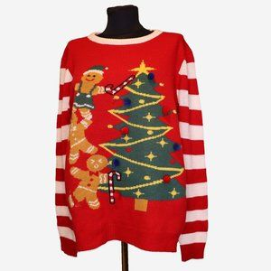 NWOT Light Up Ugly Christmas Sweater Sz L